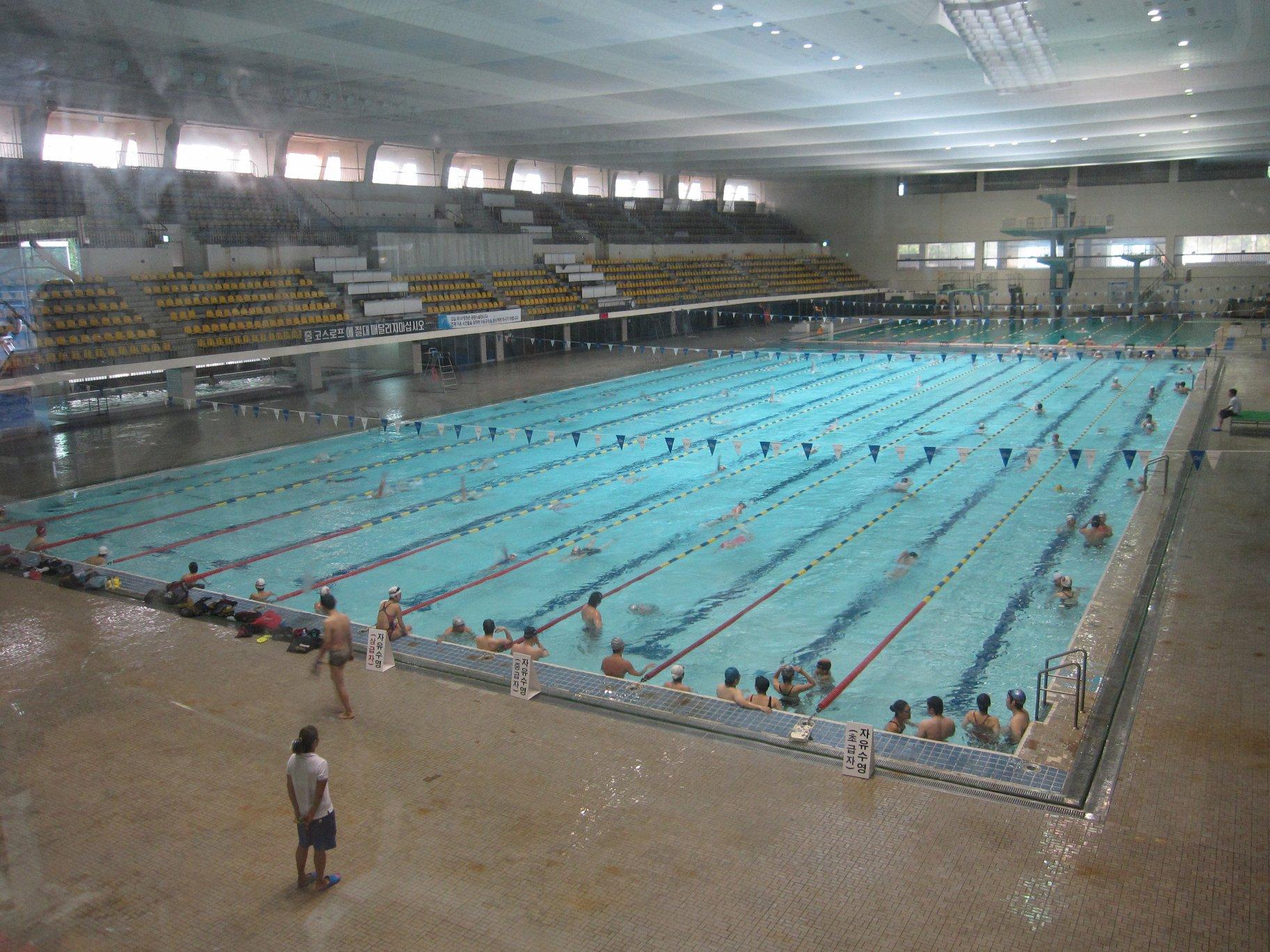 Opinions On Jamsil Indoor Swimming Pool